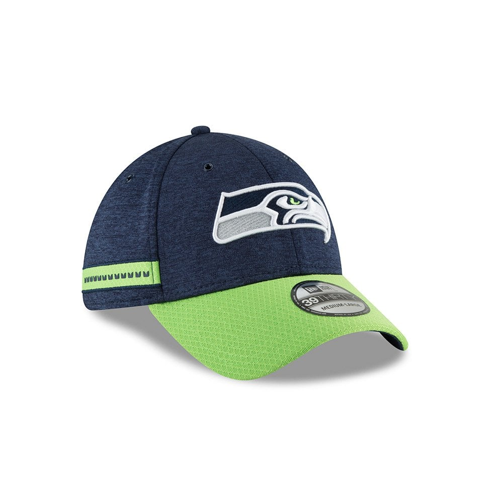 sports shoes cb6f2 fc85f NFL Seattle Seahawks Sideline 2018 39Thirty Cap