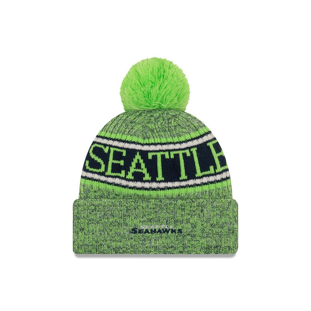 official site quite nice best sale New Era NFL Seattle Seahawks Sideline Reverse Sport Knit ...