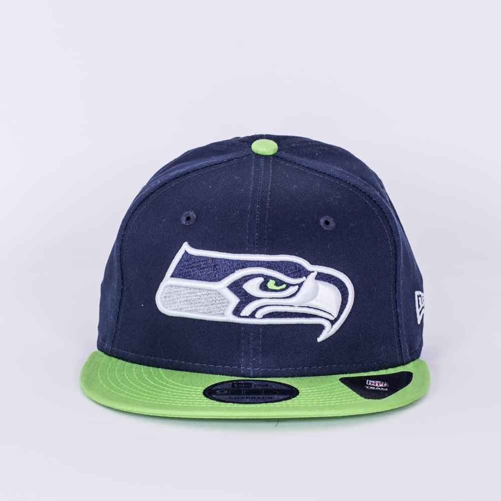 445a3e680 New Era NFL Seattle Seahawks Team Classic 9Fifty Snapback Cap ...