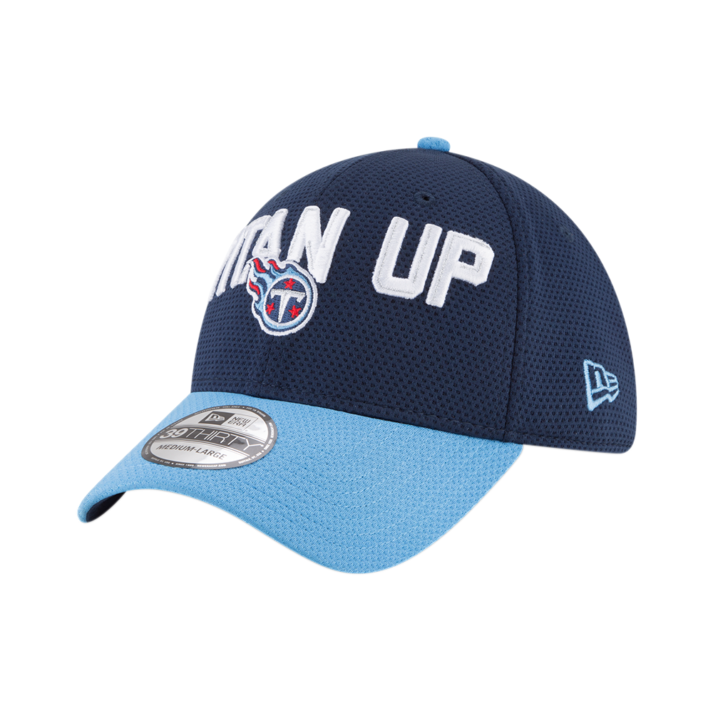 New Era NFL Tennessee Titans 2018 Draft Spotlight 39Thirty Cap ... d91f6a252250