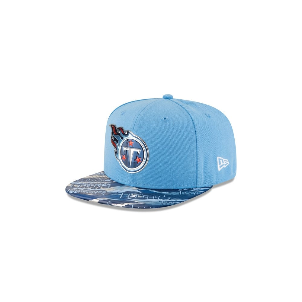 fede50bb New Era NFL Tennessee Titans 9Fifty Colour Rush On Field Original Fit  Snapback Cap