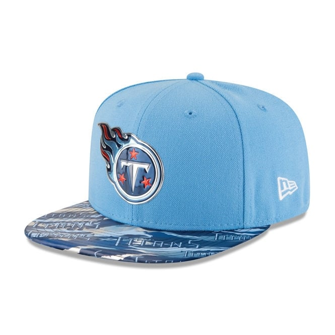 New Era NFL Tennessee Titans 9Fifty Colour Rush On Field Original Fit Snapback Cap