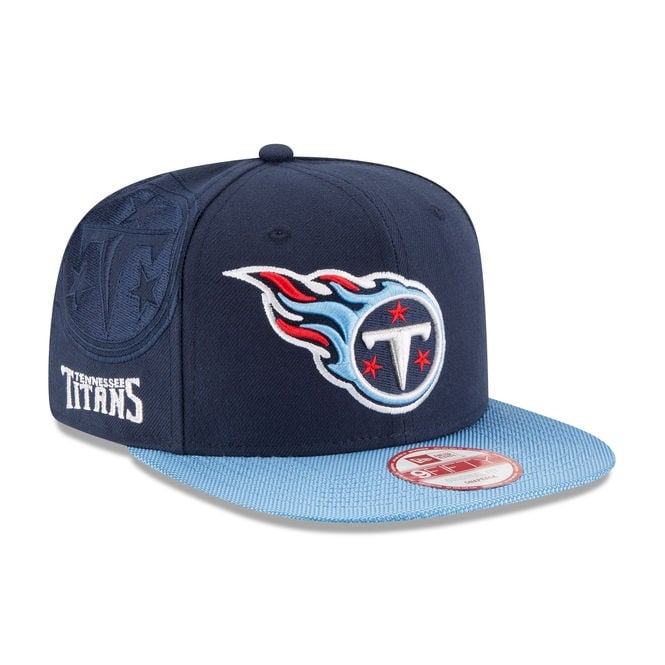 New Era NFL Tennessee Titans 9Fifty Sideline Snapback Cap