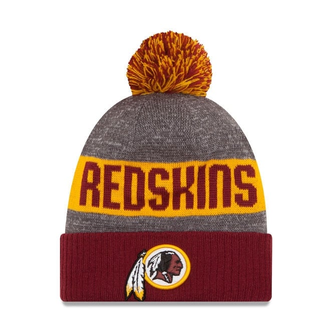 New Era NFL Washington Redskins 2016 Sideline Official Sport Knit