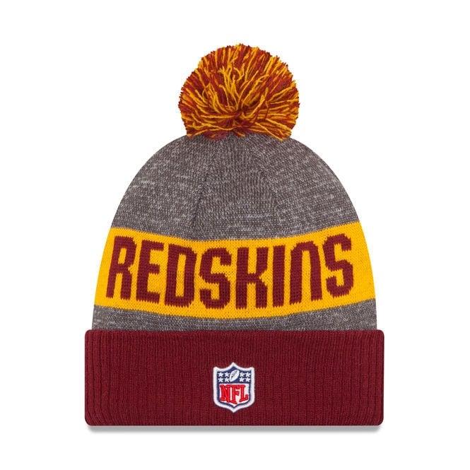 96ae9ff30a0 New Era NFL Washington Redskins 2016 Sideline Official Sport Knit ...