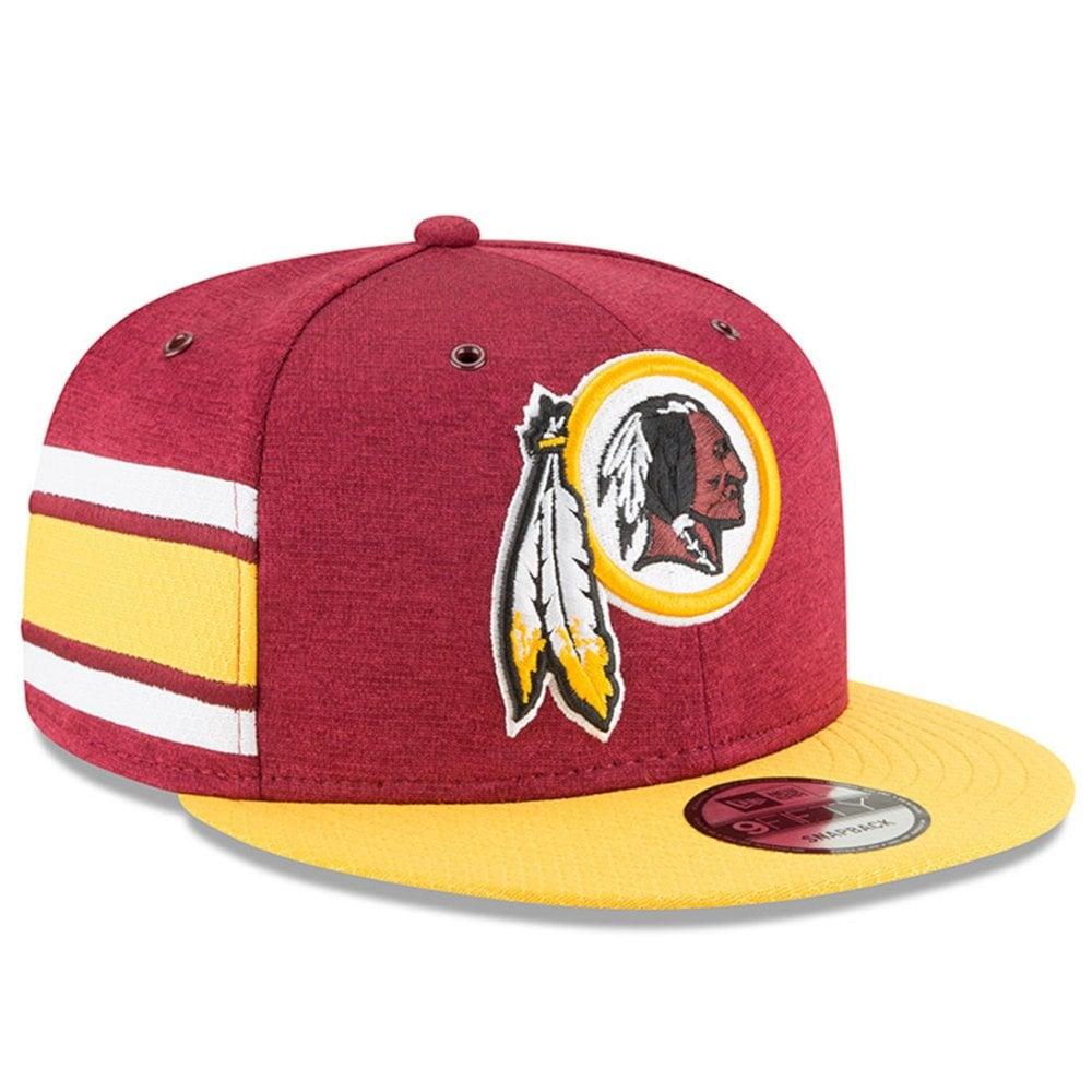 New Era NFL Washington Redskins 2018 Sideline 9Fifty Snapback ... bd665695e06