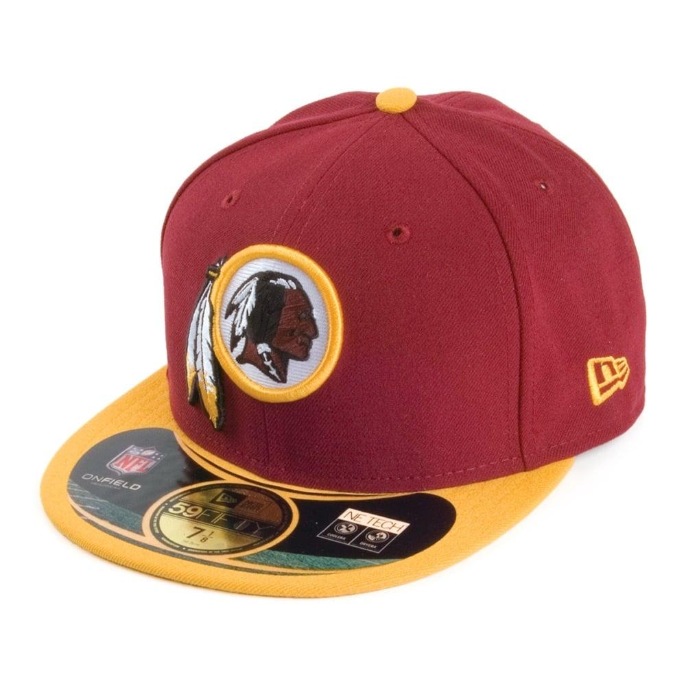 5b9452fec New Era NFL Washington Redskins On Field 59Fifty Cap - Teams from ...