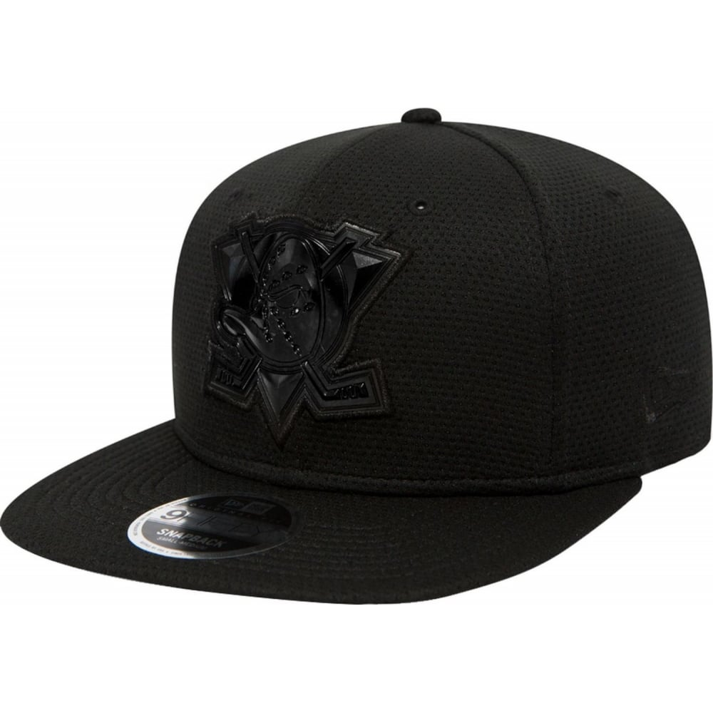 nhl anaheim ducks tonal weld black on black 9fifty cap