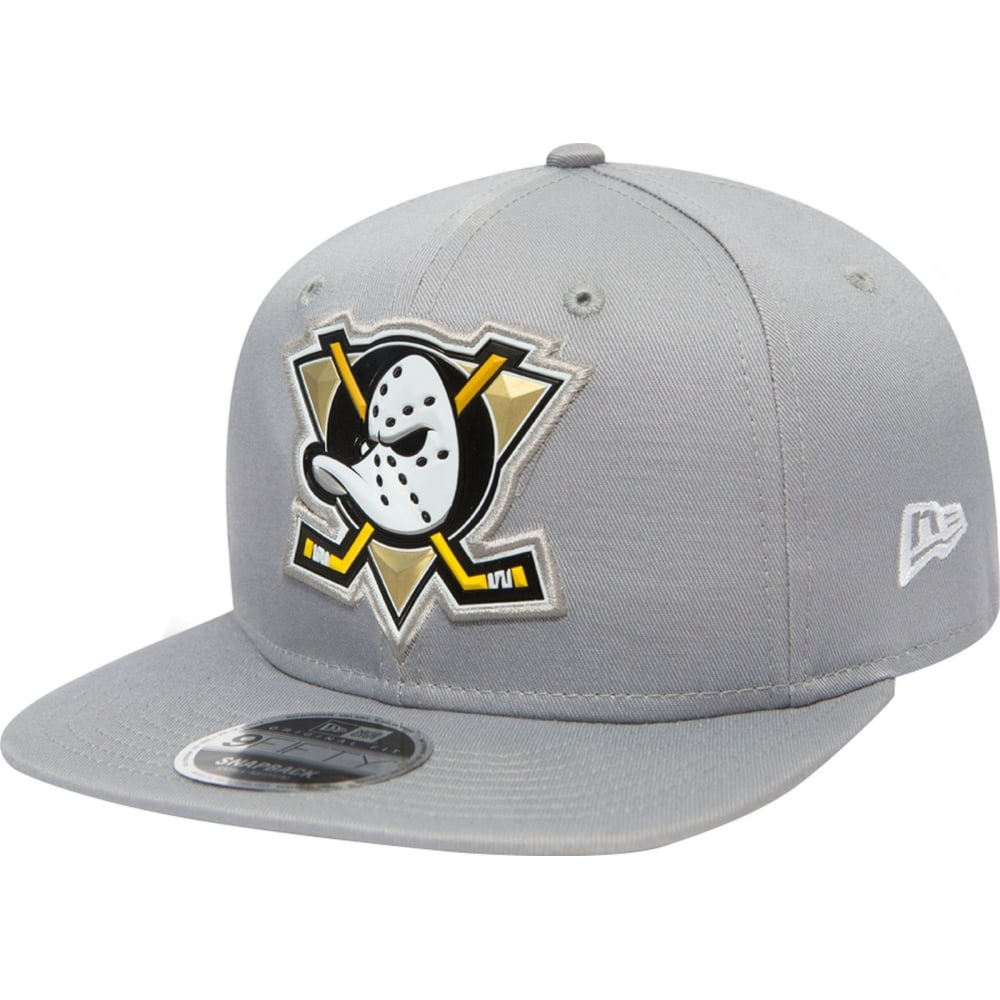 New Era NHL Anaheim Ducks Tonal Weld Original Fit Grey 9Fifty Cap ... 61e832a300fd