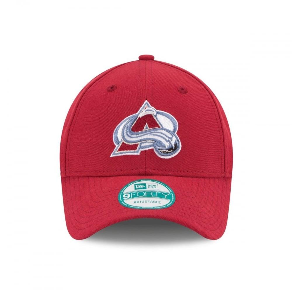 adeecd713717b4 New Era NHL Colorado Avalanche The League 9Forty Adjustable Cap ...