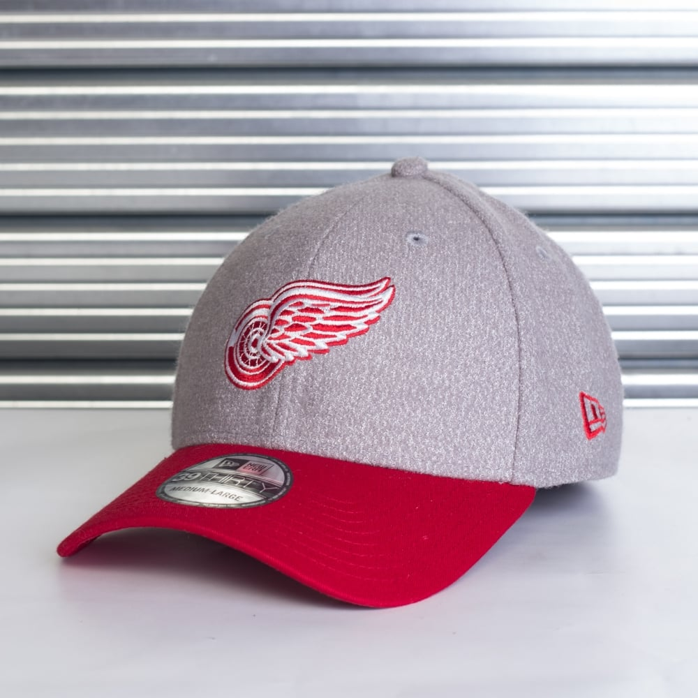 abbe79df71333 detroit red wings 59fifty hats New Era NHL Detroit Red Wings 39Thirty Fleck Stretch  Fit ...