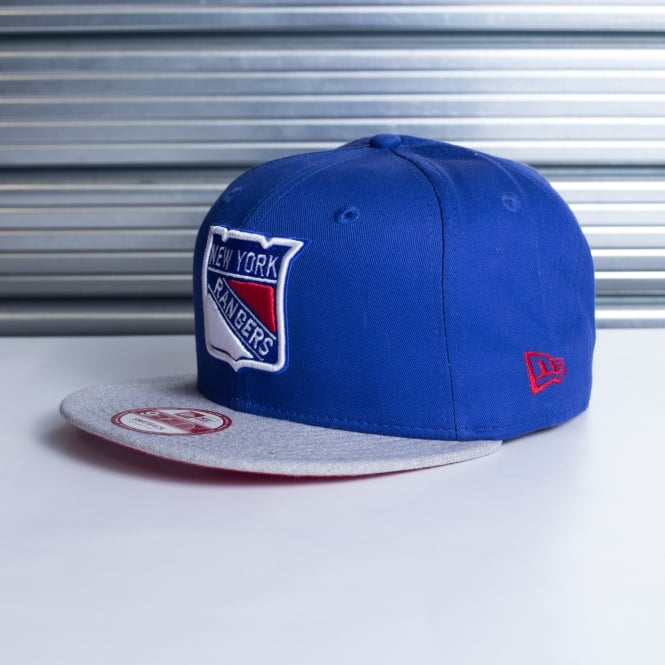 New Era NHL New York Rangers 9Fifty 2 Tone Snapback Cap