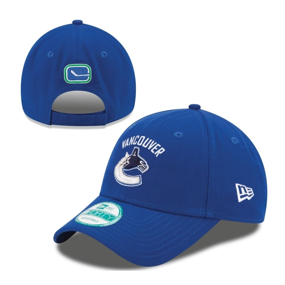 New Era NHL Vancouver Canucks The League 9Forty Adjustable Cap ... 2632b5841