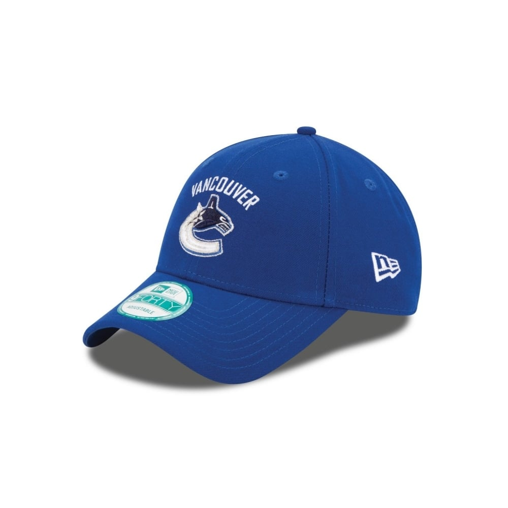 New Era NHL Vancouver Canucks The League 9Forty Adjustable Cap ... 463f5ae904d1