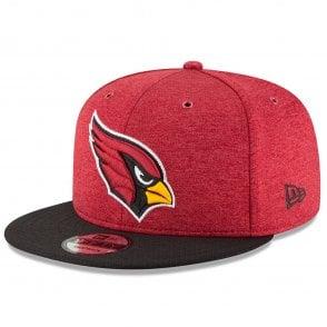on sale fcef6 8a86d NFL Arizona Cardinals 2018 Sideline 9Fifty Snapback