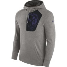 NFL Baltimore Ravens Fly Fleece CD PO Hoodie