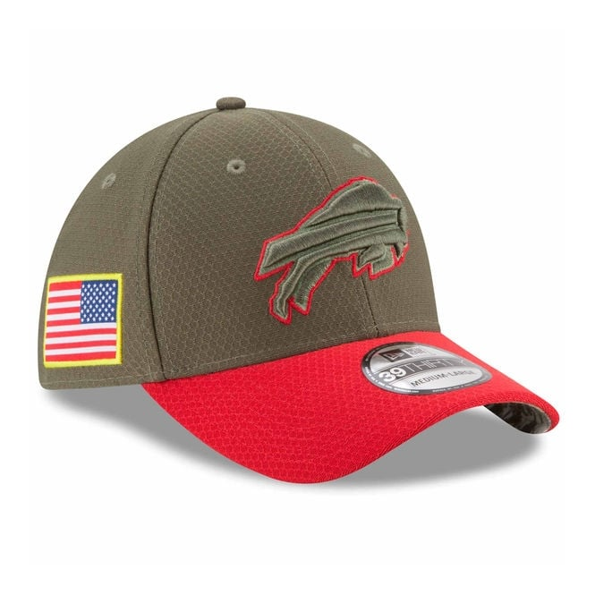 New Era NFL Buffalo Bills 2017 Salute to Service 39Thirty Cap