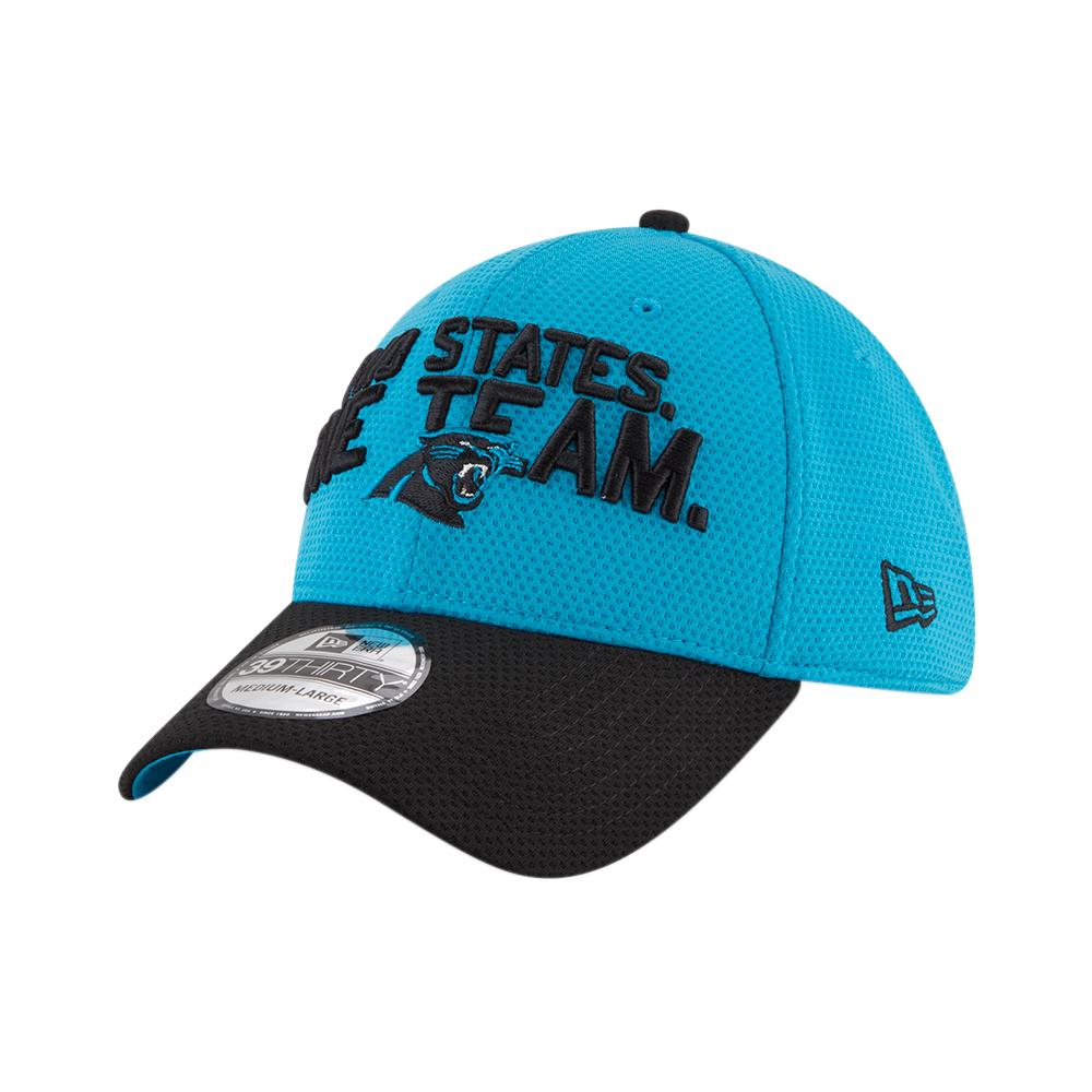 NEW Era 39 Thirty Stretch Cap Draft 2019 Carolina Panthers