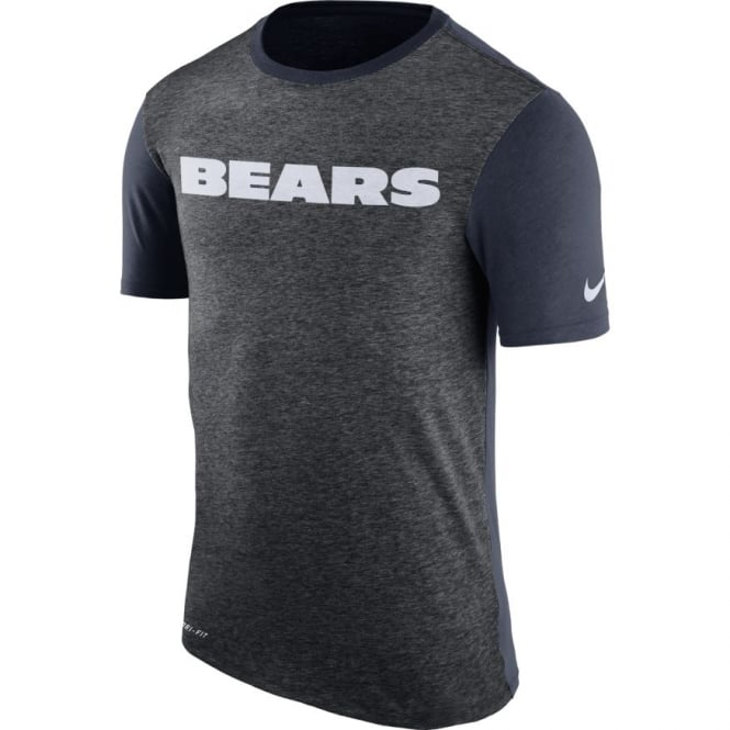 Nike NFL Chicago Bears Color Dip Dri-Fit T-Shirt