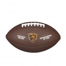 NFL Chicago Bears Composite Team Logo Football