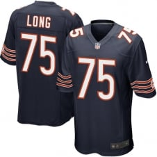 NFL Chicago Bears Home Game Jersey - Kyle Long