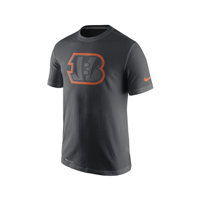 Nike NFL Cincinnati Bengals Anthracite Travel T-Shirt