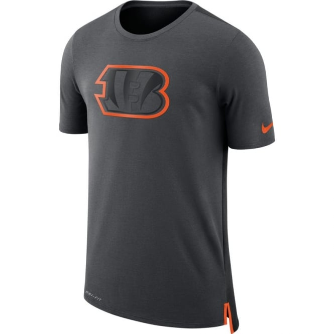 Nike NFL Cincinnati Bengals Travel Mesh Dri-Fit T-Shirt