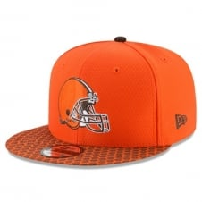 NFL Cleveland Browns 2017 Sideline 9Fifty Snapback Cap