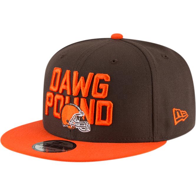 new product 283c8 41b2c NFL Cleveland Browns 2018 Draft Spotlight 9Fifty Snapback Cap