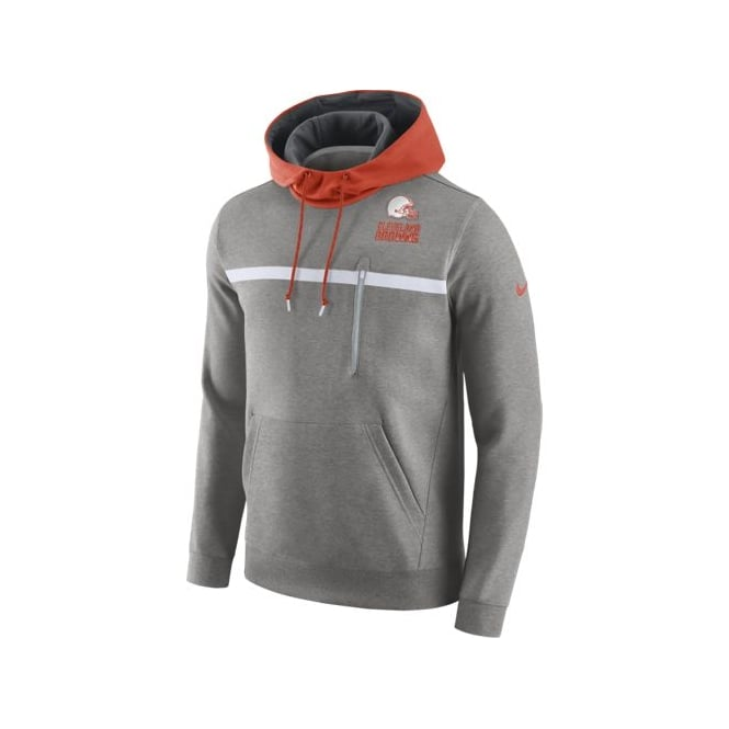 Nike NFL Cleveland Browns Champ Drive Pullover Hood