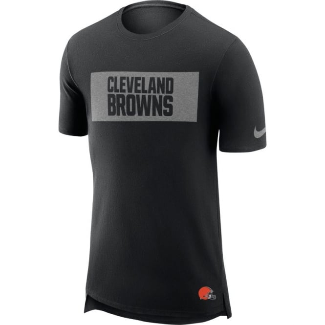 Nike NFL Cleveland Browns Enzyme Droptail Logo T-Shirt
