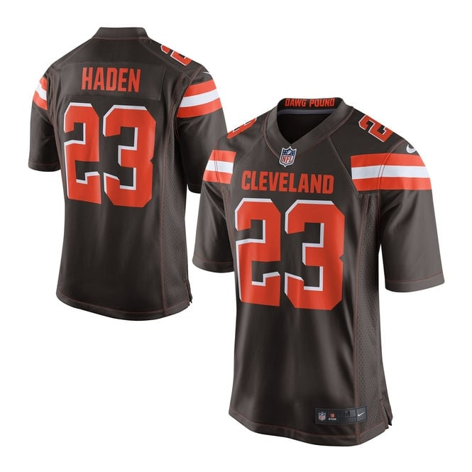 Nike NFL Cleveland Browns Home Game Jersey - Joe Haden
