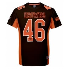 NFL Cleveland Browns Moro Poly Mesh T-Shirt