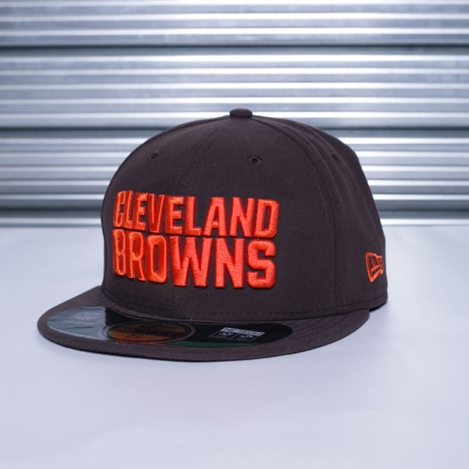 New Era NFL Cleveland Browns On Field 59Fifty Cap