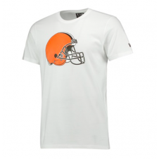 NFL Cleveland Browns White Team Logo T-Shirt