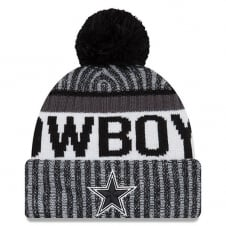 NFL Dallas Cowboys 2017 Black/White Sideline Sport Knit