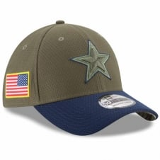 NFL Dallas Cowboys 2017 Salute to Service 39Thirty Cap