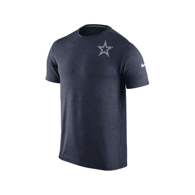 6228457eeec Nike NFL Dallas Cowboys Dri-Fit Touch Performance T-Shirt - Teams from USA  Sports UK