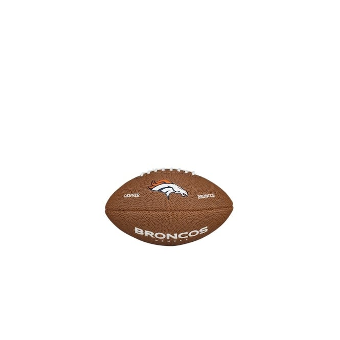 Wilson NFL Denver Broncos Mini Soft Touch Football