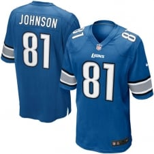NFL Detroit Lions Home Game Jersey - Calvin Johnson
