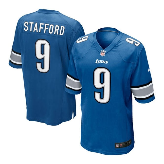 Nike NFL Detroit Lions Home Game Jersey - Matthew Stafford