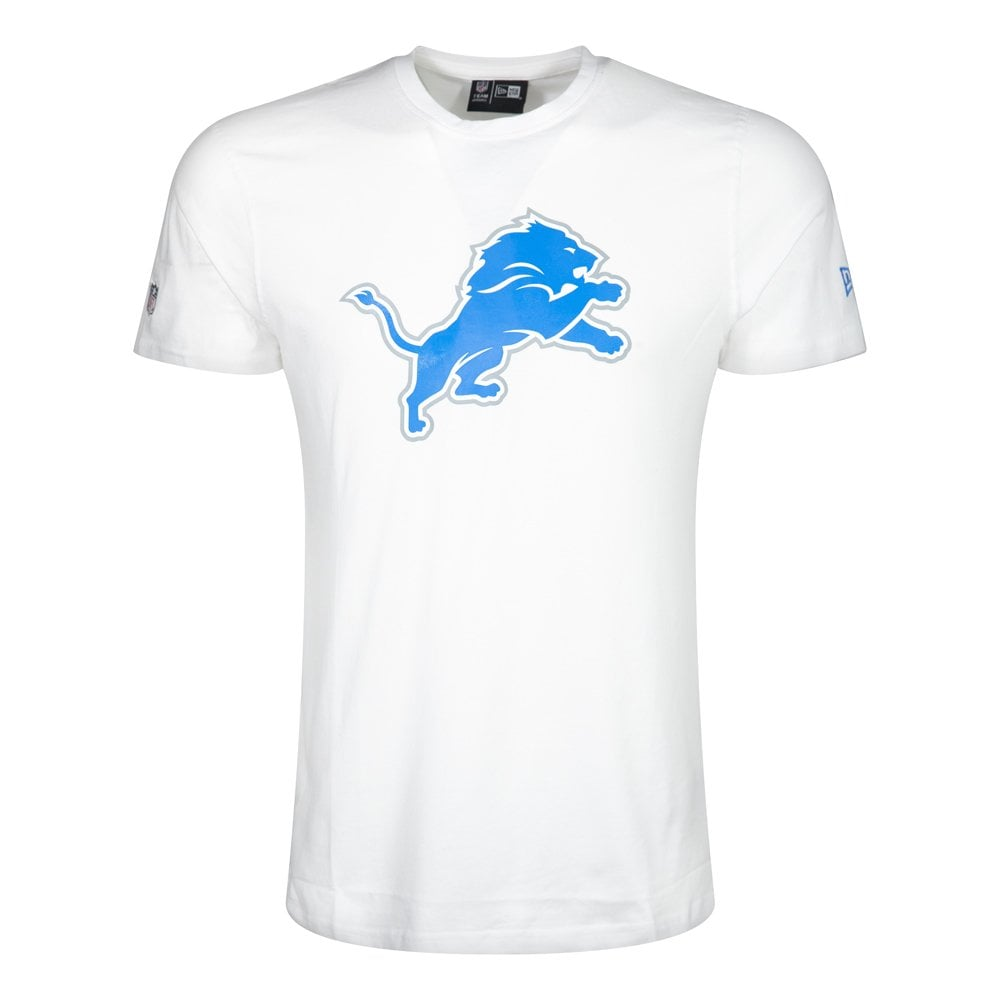 NFL Detroit Lions White Team Logo