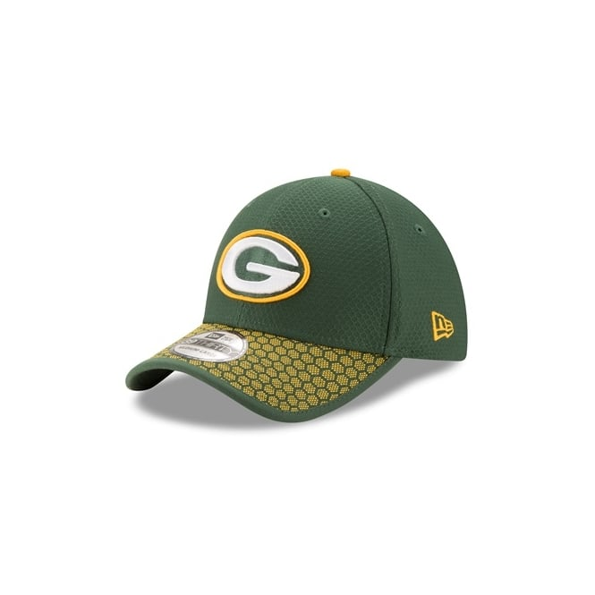 6fd0efd4952 New Era NFL Green Bay Packers 2017 Sideline 39Thirty Cap - Teams ...