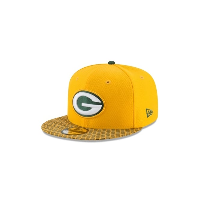 New Era NFL Green Bay Packers 2017 Sideline 9Fifty Snapback Cap