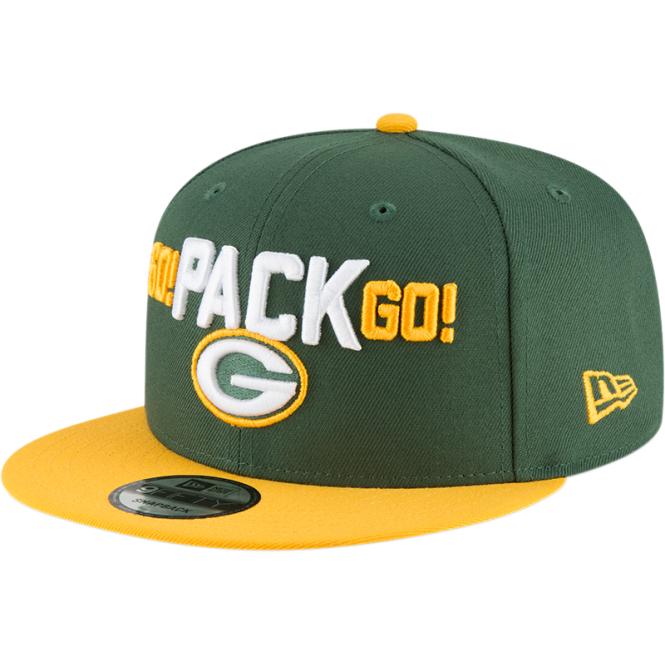 half off 4baca 5c325 NFL Green Bay Packers 2018 Draft Spotlight 9Fifty Snapback Cap
