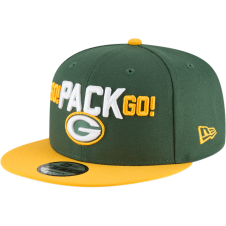 5ecff888196bcb NFL Green Bay Packers 2018 Draft Spotlight 9Fifty Snapback Cap · New Era ...