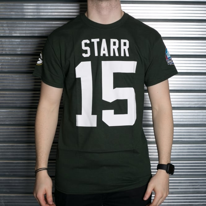 Majestic Athletic NFL Green Bay Packers Bart Starr Hall of Fame T-Shirt