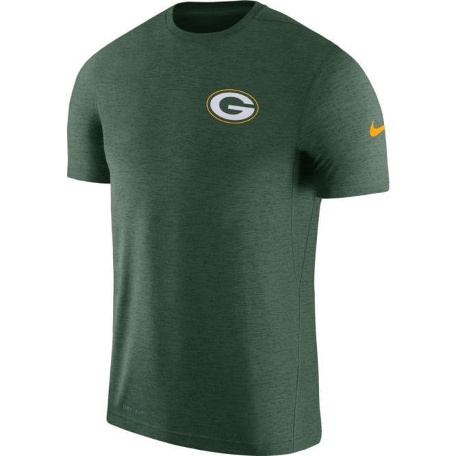 Nike NFL Green Bay Packers Coach Dri-Fit T-Shirt