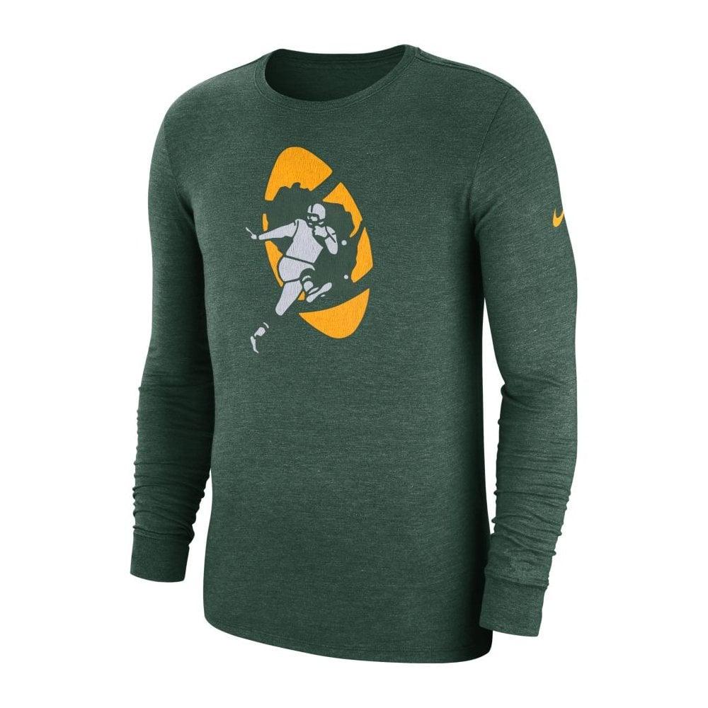 Nike NFL Green Bay Packers Essential Wordmark Performance T-Shirt