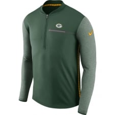 NFL Green Bay Packers Half-Zip Coach Top